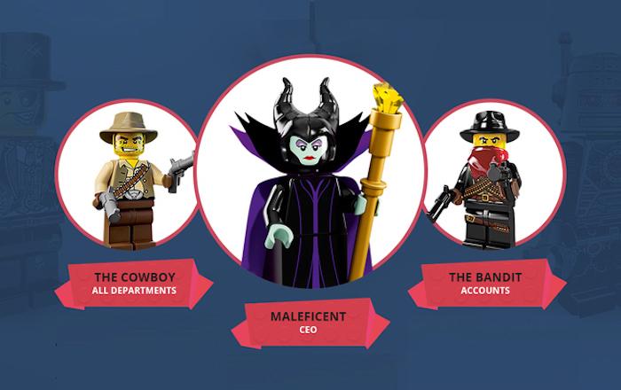 Ultimate LEGO Marketing Dream Team (infographie)