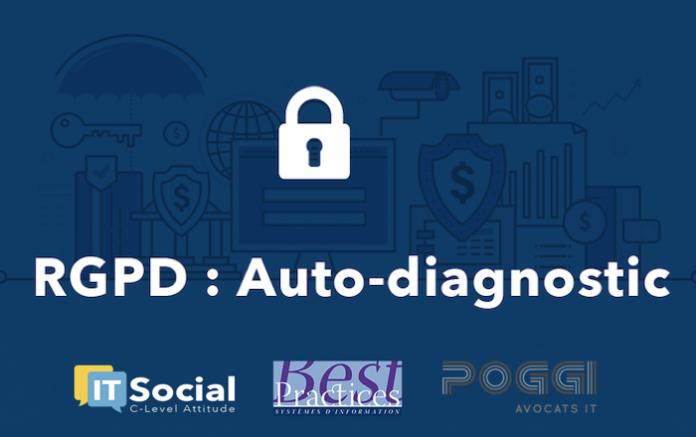 rgpd gdpr votre auto diagnostic gratuit en 3 minutes it social m dia des enjeux it. Black Bedroom Furniture Sets. Home Design Ideas