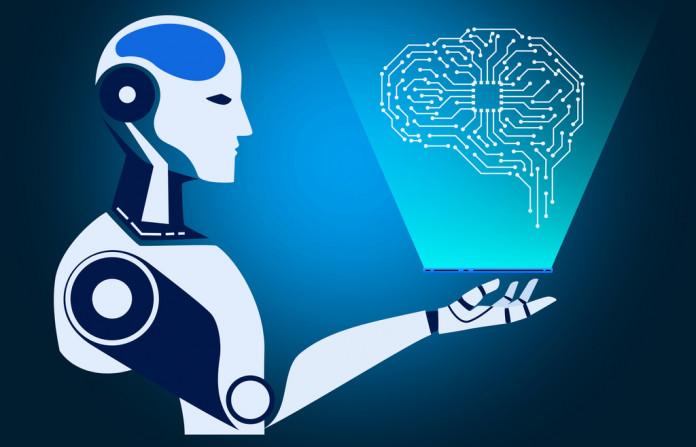 Robot using hologram representation of a digital brain