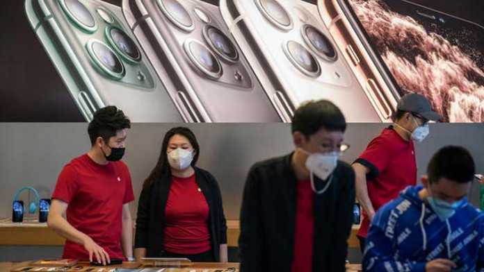 Apple ferme temporairement en Chine — Coronavirus